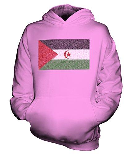 Candymix - Sudadera con Capucha para niño, diseño de la Bandera del Sáhara Occidental