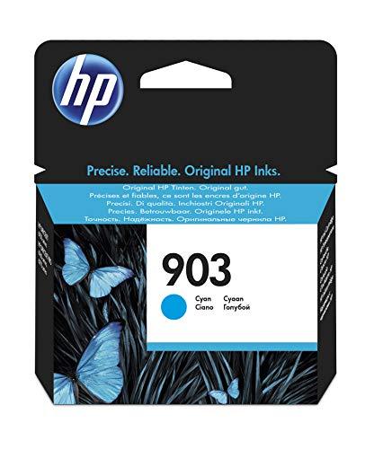 HP 903 T6L87AE - Cartucho de Tinta Original, Cian, compatibl