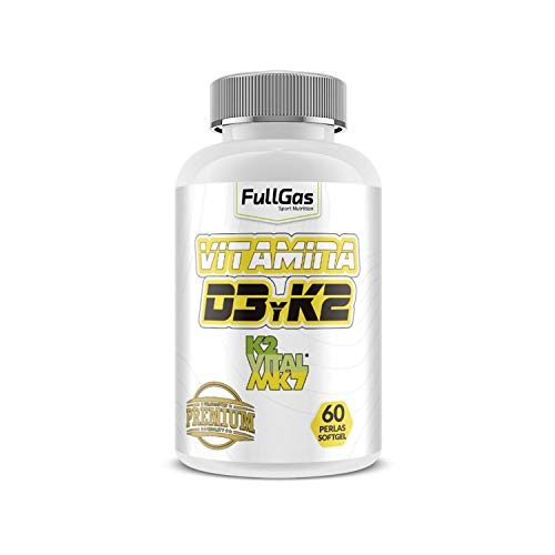 FullGas - Vitamina D3 + K2-VITAL - 60 Softgel