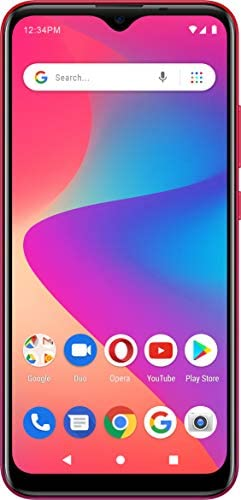 BLU G50 Plus G0350WW 32GB GSM Unlocked Android Smart Phone Red product image