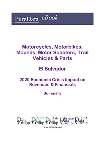 Motorcycles, Motorbikes, Mopeds, Motor Scooters, Trail Vehicles & Parts El Salvador Summary: 2020 Economic Crisis Impact on Revenues & Financials (English Edition)