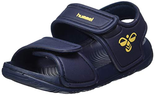 hummel Unisex-Kinder Playa JR Sneaker, Blau (Blue Nights 7429), 24 EU