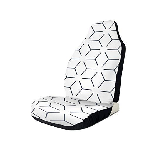NIET Dekbedovertrek Geometrische Box Art Deco Quilt Patroon Gooi Kussen Automobile Volledige grootte Bedrukte Zitgedeelte Is Gemakkelijk te installeren2PCS