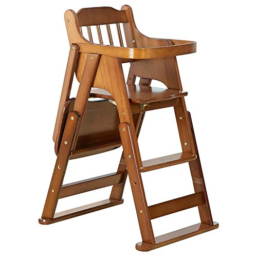 Lowest Prices! Baby Esszimmerstuhl Aus Holz Kindertisch Stuhl Tragbarer Klappbarer Hochstuhl Multifu...