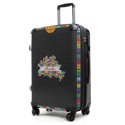 HAUPTSTADTKOFFER - Style Hartschalenkoffer Koffer Trolley Reisekoffer Reisegepäck, individuell gestalten, Geschenkidee, Design:...