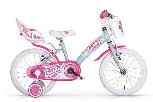 MBM Candy 20' Bimba Acc 1 V, Bici Bambina, Acquamarina A44, XX