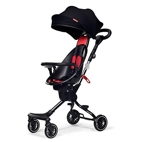 ZHYLing Passeggino del Bambino Pieghevole Pieghevole Pieghevole Paesaggio a Due Vie Passeggino a Due Vie Baby Passeggino Hot Mom Bebè Carrozzina per Bambini Carrello (Color : Baby Stroller2)