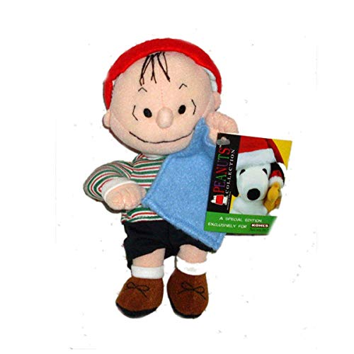 Rare! Peanuts Linus Van Pelt Plush by Kohls & Applause