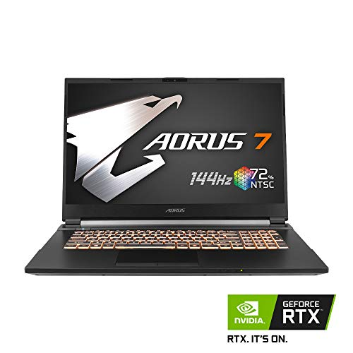 [2020] AORUS 7 (KB) Gaming Laptop, 17.3-inch FHD 144Hz IPS, GeForce RTX 2060, 10th Gen Intel i7-10750H, 16GB DDR4, 512GB NVMe SSD