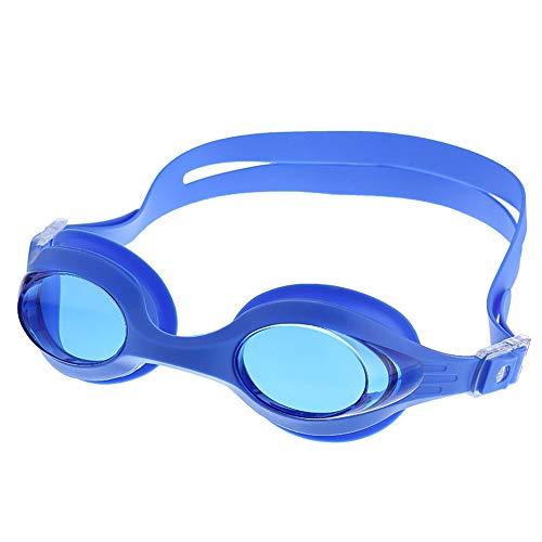 Zwembril, HD waterdichte anti-mist gegalvaniseerde platte professionele competitie zwembril, zachte siliconen voor volwassen mannen, vrouwen
