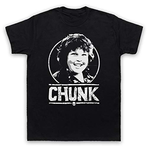 My Icon Art & Clothing Goon Docks Chunk Tribute Herren T-Shirt, Schwarz, XL