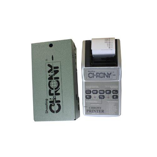 Sportsman Supply Shooting Chrony 7000136 Gamma Master Chronograph with Ballistic Chrony Printer Silver Green by Inc.