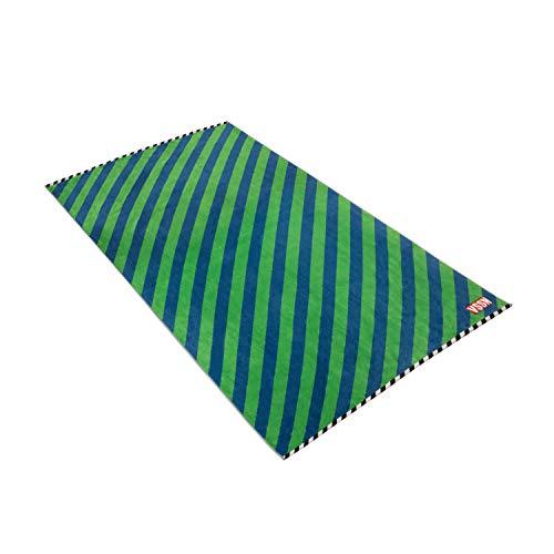 Vossen Strandtuch VSSN Stripes deep Blue, 100 x 180 cm
