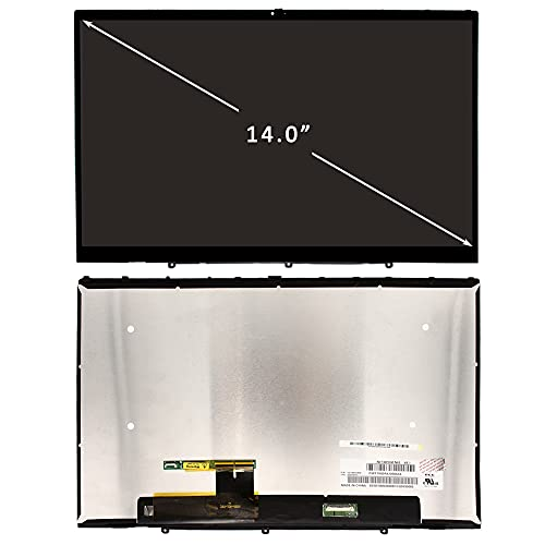 FIRSTLCD Replacement Fit for Lenovo Yoga C740-14IML 81TC 81TC000JUS 5D10S39587 5D10U55853 Touch LCD Screen LED Display Assembly 14