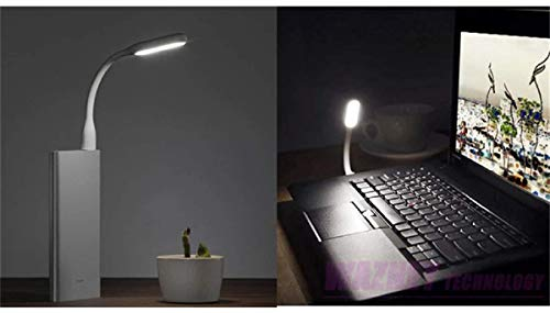 SAIBANGZI 3 Stück USB LED Lampe Leselampe (Schwarz)