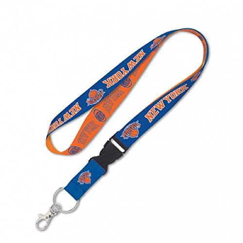 NBA New York Knicks Lanyard with Detachable Buckle, 3/4 by WinCraft
