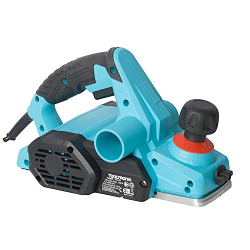 ToolTronix 650W Electric Wood Planer Sander 82mm with Side-Fence Dust-Bag Blade