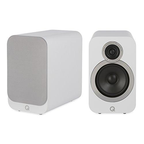 Q Acoustics 3020i QA3528 - Altavoz, Color Blanco
