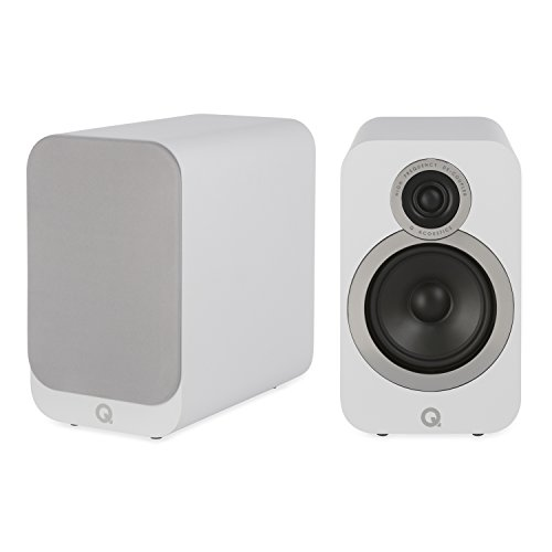 Q Acoustics 3020i Bookshelf Speaker Pair (Carbon Black)