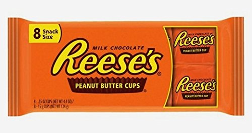 Reeses Peanut Butter Snack Size Cups - 8ct