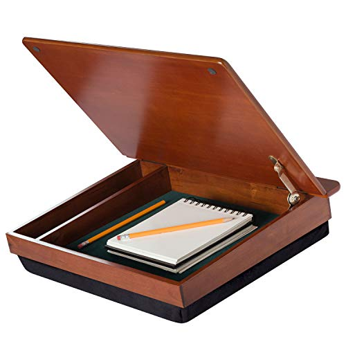 Wooden Lap Desk with storage