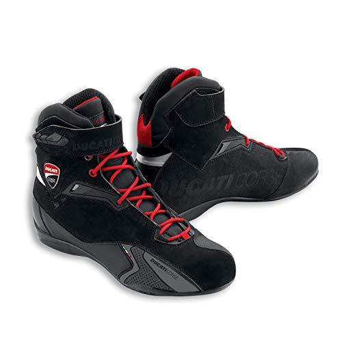 Ducati Corse City Motorradstiefel schwarz Größe 43