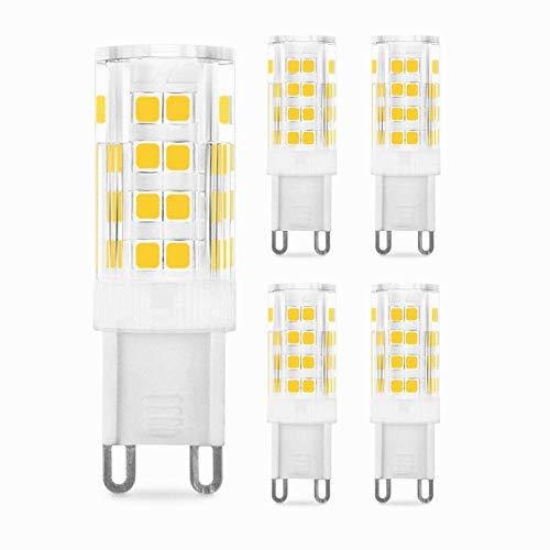 wpaacb Led GlüHbirne Stiftsockellampe Badezimmer Glühbirne Glühbirnen G9 Glühbirnen für Haus Nachtglühbirnen LED-Glühbirnen für die Innenbeleuchtung cool White,110v-265v