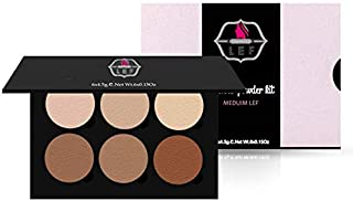 Lef Powder Contour and Highliter Palette - 13304