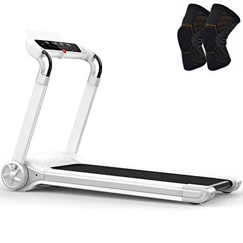 MG REAL Motorisierte Laufband Für Home Gym 286 Lbs Gewicht Kapazität Folding Tragbare Elektrische Ausrüstung Noise Reduction Laufender Maschine,L Size Knee Pads