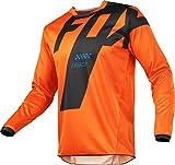 PYMNDZ Equipo de Bicicleta de montaña de Motocicleta Camiseta de Descenso HPIT Fox MTB Offroad DH MX Camiseta de Locomotora de Bicicleta Campo a través -M