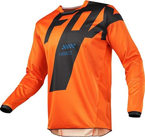 PYMNDZ equipo de bicicleta de montaña de motocicleta camiseta de descenso HPIT FOX MTB Offroad DH MX camiseta de locomotora de bicicleta cross country -L