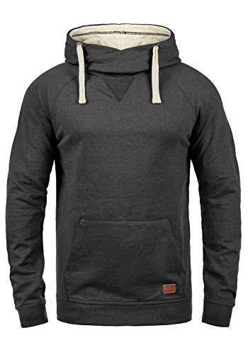 Blend Sales Herren Kapuzenpullover Hoodie Pullover mit Kapuze, Größe:M, Farbe:Charcoal (70818)