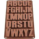 Seifenprofis 26 Buchstaben -Extra Stabil- Silikonform Seifenform Backform Schokoladenform 34 * 22.5...