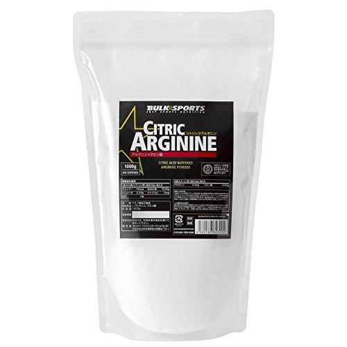 バルクスポーツ アミノ酸 シトリックアルギニンパウダー 1000g(約400回分)クエン酸配合