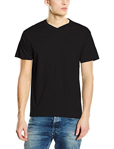 Stedman Apparel Herren Classic-T V-neck/ST2300 T-Shirt, Schwarzer Opal, XXL