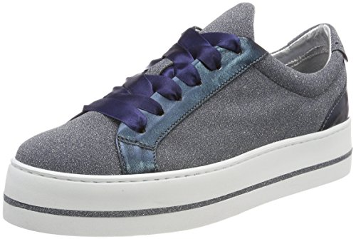 Maripe Damen 26241 Sneaker, Blau (Glitter Oceano), 36 EU