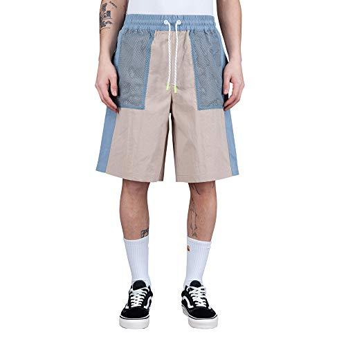 Tommy Hilfiger Jeans Tech Colorblock Short Uomo DM0DM10602 ABM Soft Beige Multi (l)