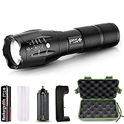 PeakPlus Rechargeable Tactical Flashlight LFX1000