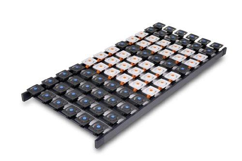 DaMi Tellerrost Dream 90 x 200 cm - 5 Zonen Lattenrost mit 72 Tellermodulen & Individueller Härteverstellung
