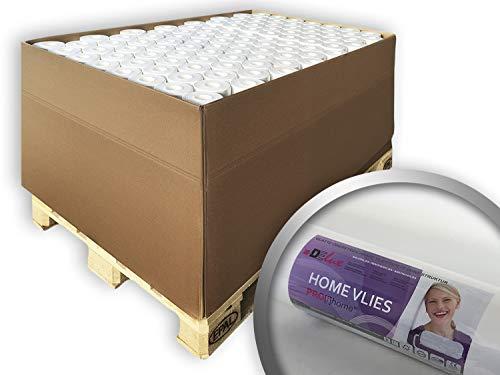 Vliesbehang overschilderbaar 120 g Profhome HomeVlies 399-124 glad onderbehang renovlies voor wand en plafond | 96 rollen 2400 m2