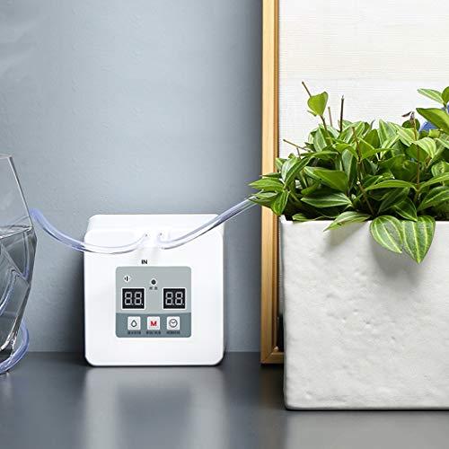 RAPLANC Dispositif d'arrosage Automatique, Dispositif d'arrosage de Fleurs de Douche Intelligente, système d'irrigation Goutte à Goutte en Pot,Normal Version