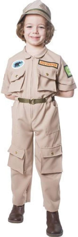 Zoo Keeper- Medium 8-10 by Dress Up America