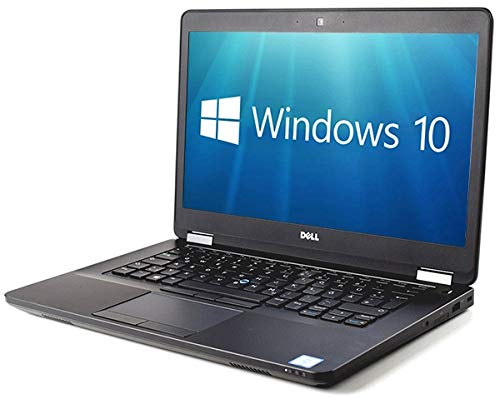 Dell Latitude E5470 14' Laptop - Intel Core i5-6200U 8GB DDR4 256GB SSD HDMI WebCam WiFi BT Backlit Windows 10 Pro (Renewed)