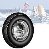 YAOBLUESEA Ruota per kayak per canoa, ruote a prova di guasto, ruote in gomma piena, ruote...