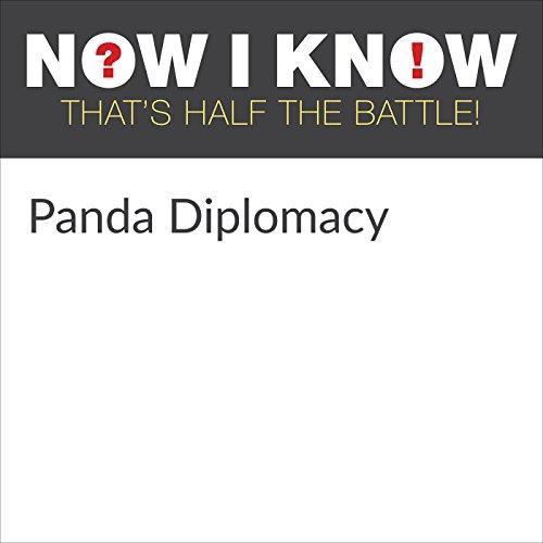 Panda Diplomacy audiobook cover art