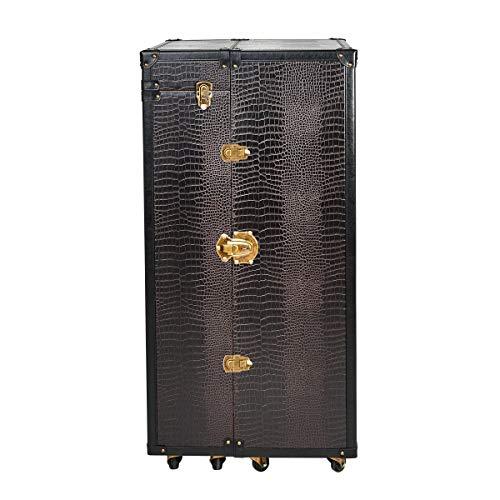 BUTLERS Hemingway Barschrank – Antike Kofferbar mit Weinregal - 5