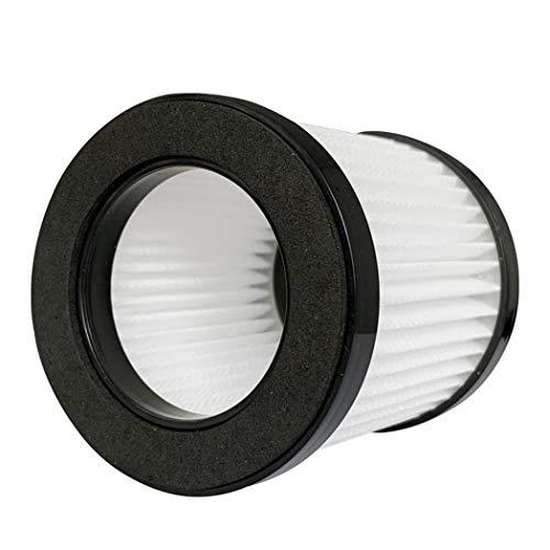 QUJJP Accesorios para aspiradoras Filtro de eficienía de la colección de Polvo 3X Compatible con ILIFE H50 Clea de reemplazo de aspiradora inalámbrica Filtros