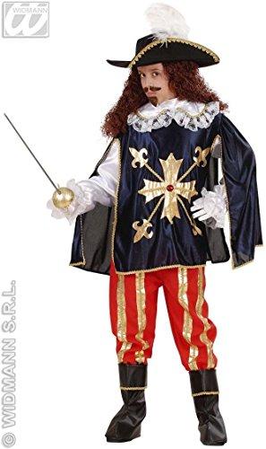 Widmann- Costume da Moschettiere Bambino 8/10 Anni, Multicolore, L, 55377