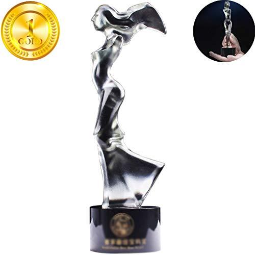 Trophée, Trophées Creative Transparent Femme Statue...