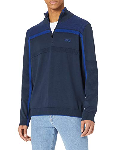 BOSS Zemi 10233026 01 Sweater, Navy410, M Homme